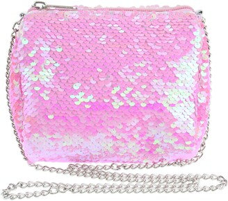 Capelli New York Flip Sequin Crossbody Bag