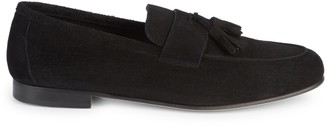 Saks Fifth Avenue Made In Italy Flex Suede Tassel Loafers