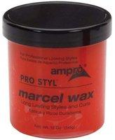 Ampro Pro Styl Marcel Curl Wax, 12 Ounce