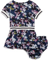 Splendid Girls' Floral & Striped Dress with Bloomers