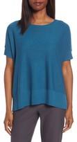 Eileen Fisher Women's Tencel & Merino Wool Top