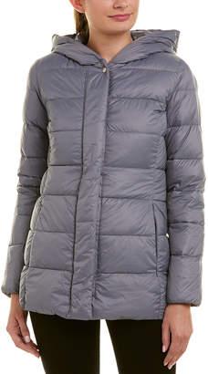 Cole Haan Shawl Hood Packable Down Jacket