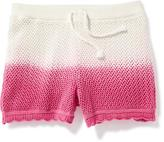 Old Navy Crochet Drawstring Shorts for Girls