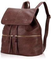 Hynes Eagle Hynes Victory Women Large Leather Daypack Backpack School Backpack Men Shoulder Bag