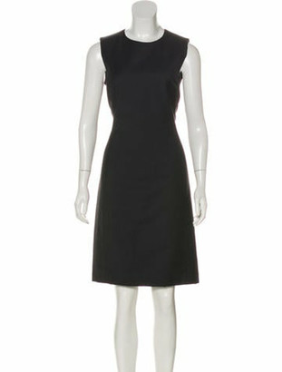 Prada Wool Knee-Length Dress