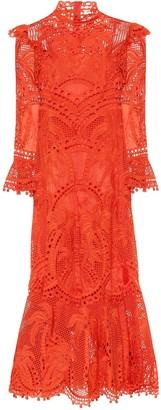 Zimmermann Brightside Palm silk-organza gown