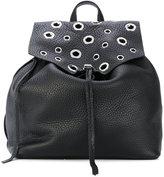 Rebecca Minkoff eyelets embellished backpack