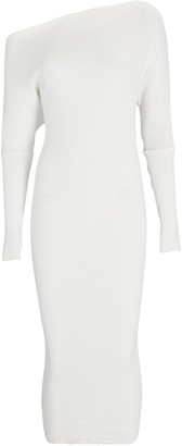 Enza Costa Slouch Midi Sweater Dress