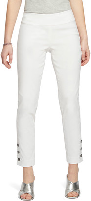 Nic+Zoe Buttoned Up Cotton Wonderstretch Pull-On Pants