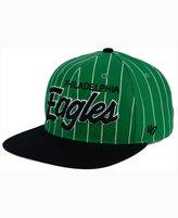 '47 Philadelphia Eagles Pintstripe Script Captain Cap