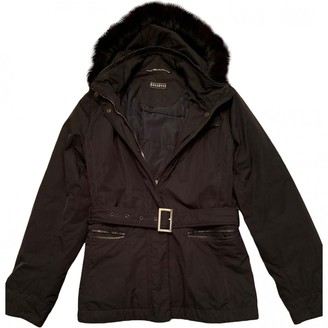 Fratelli Rossetti Black Polyester Coats