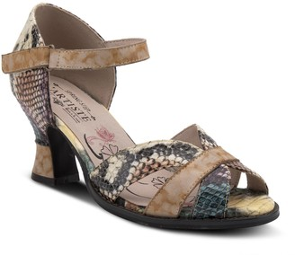 Spring Step L'Artiste By Leather D'orsey Sandals - Glamour
