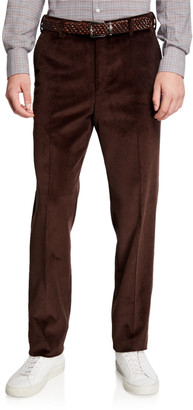 Loro Piana Men's Straight-Leg Corduroy Pants