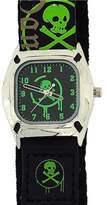 Reflex Quartz Skull and Crossbone Dial Boys Watch KID-0037B