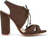 Schutz Gracy suede sandals