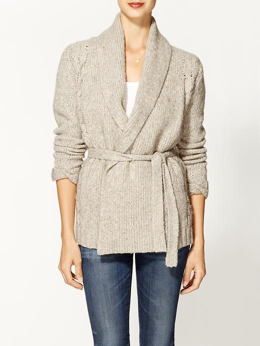 LAmade Poncho Open Front Sweater