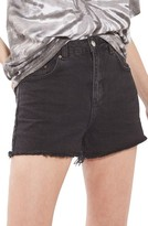 Topshop Women's Denim Mom Shorts