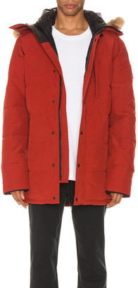 Canada Goose Carson Parka in Red Maple | FWRD
