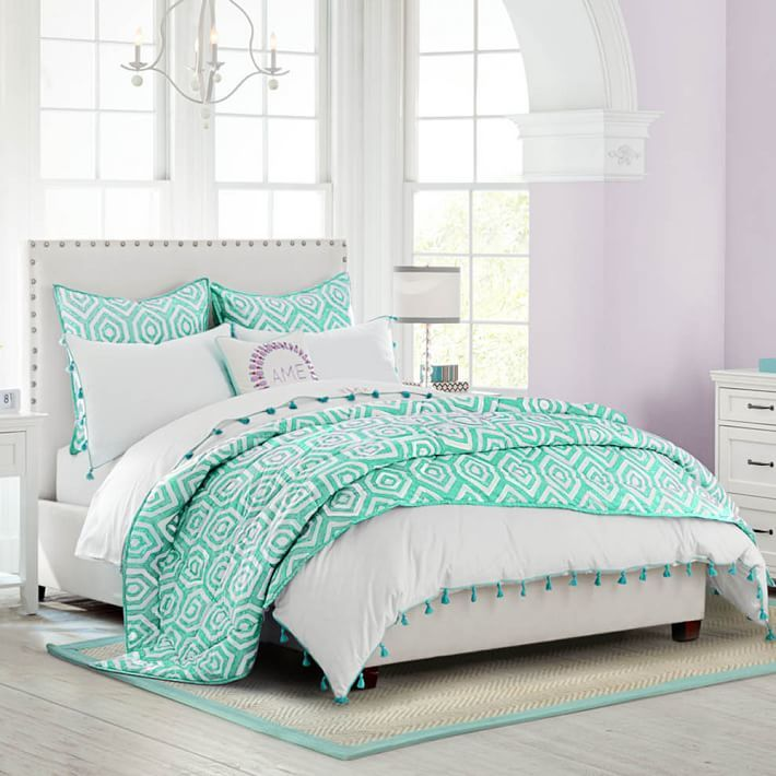 Raleigh Upholstered Square Bed