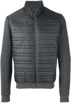 Z Zegna contrast sleeve jacket - men - Cotton/Polyester - M