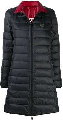 Love Moschino Zipped Padded Coat