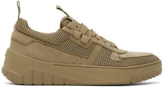HUGO BOSS Khaki Madison Tennis Sneakers
