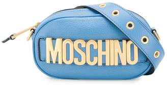 Moschino logo lettering belt bag