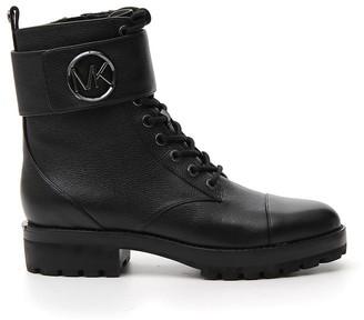MICHAEL Michael Kors Logo Buckle Boots
