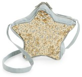 Girl's Wild And Gorgeous Sequin Star Bag - Grey