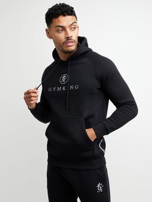 Gym King Pro Logo Hood - Black