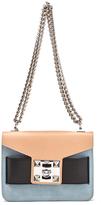 SALAR Women's Mila Bag Nero/Carne