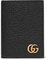 Gucci Pebble-Grain Leather Bifold Cardholder