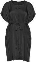 Studio Plus Size Satin tie dress