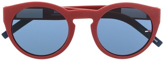 Tommy Jeans Round-Frame Sunglasses