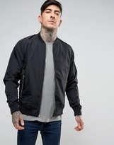Penfield Bomber Jacket Showerproof in Black
