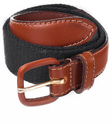 American Apparel Unisex Solid Web Belt Leather Buckle