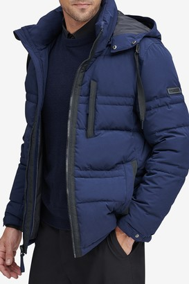 Andrew Marc Huxley Removable Hood Jacket