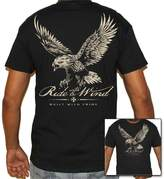 Biker Life Clothing Biker Life USA Ride with the Wind Eagle T-Shirt