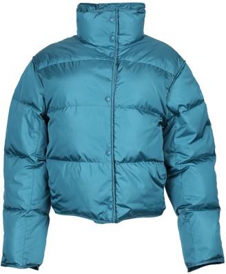 Acne Studios High Neck Puffer Jacket Ocean Blue