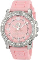 Juicy Couture Women's 1900793 Pedigree Light Jelly Strap Watch