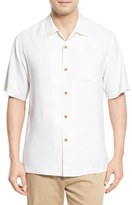 Tommy Bahama 'Rio Fronds' Short Sleeve Silk Sport Shirt (Big & Tall)
