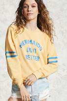 Forever 21 Mermaids Graphic Sweatshirt