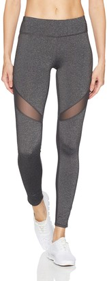 Andrew Marc Women's Long Compression Legging with Mesh
