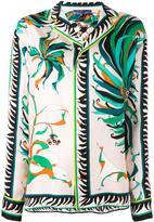 Emilio Pucci pyjama style blouse - women - Silk - 44