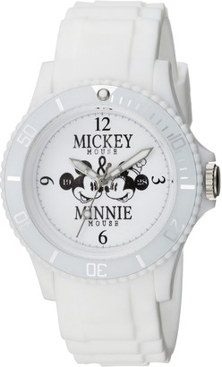 Disney Women's Mickey Mouse Analog-Quartz Watch with Plastic Strap