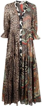Anjuna Animal-Print Dress