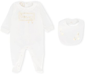 Versace Baby Grow With Bib