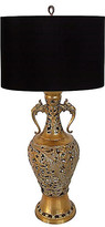 One Kings Lane Vintage Bohemian Brass Lamp - The Gilded Room