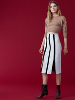 Diane von Furstenberg High-Waisted Fitted Pencil Skirt