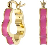 Marc by Marc Jacobs Diamonds and Daisies Colored Daisy Window Mini Hoop Earrings
